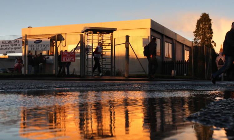 The Coupar Angus plant.
