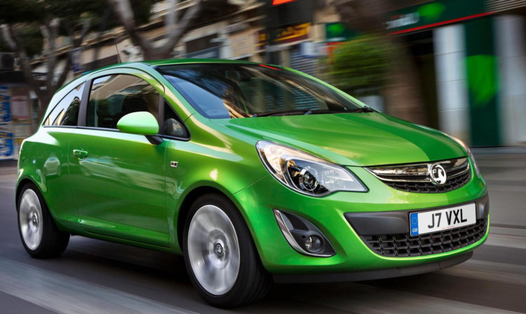 The Vauxhall Corsa was Scotland's favourite car.
