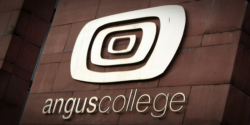 Kim Cessford, Courier - 21.11.11- FOR FILE general shot - pictured is the Angus College logo
