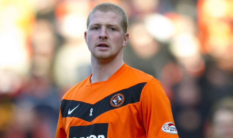 Garry Kenneth won the Scottish Cup with United but has struggled to make an impression since leaving the club.