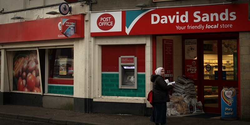 John Stevenson. Courier. 10/01/12. Perth/Kinross. Pic shows the David Sands store in Kinross, the chain of stores has just been taken over by the  Co- Operative.