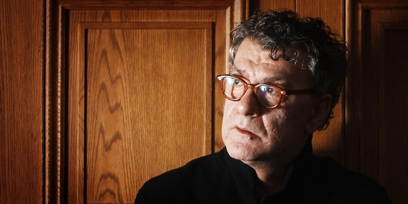 Artist Jack Vettriano in the Vettriano suite at Hotel du Vin in Glasgow, he spoke ahead of the opening of his new exhibition Days of Wine and Roses that will be at Kirkcaldy Museum and Art Gallery in Scotland.