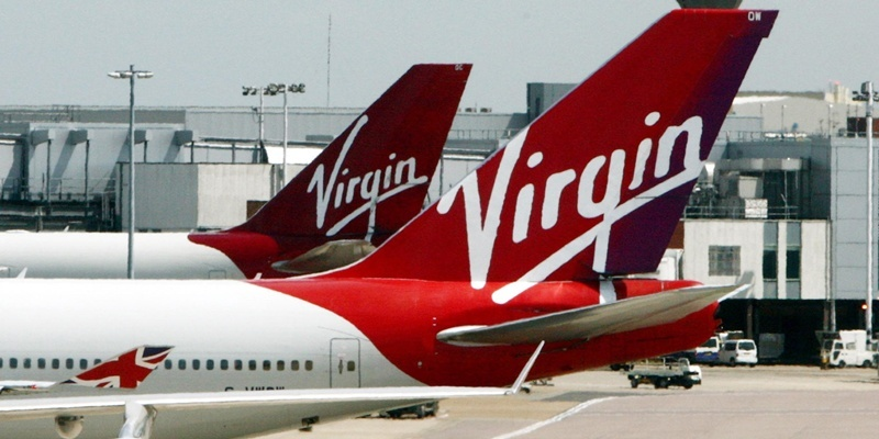 File photo dated 25/07/11 of Virgin Atlantic planes at Heathrow Airport as the airline is set to launch its first domestic service, flying passengers between London and Manchester.