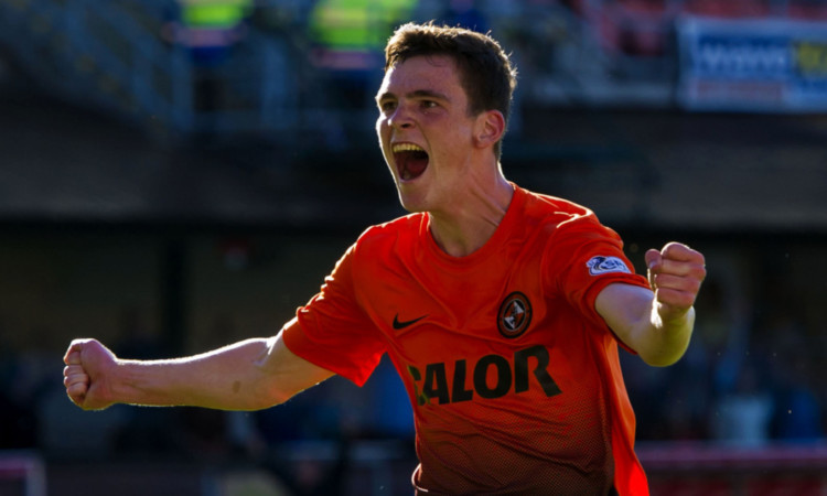 Andrew Robertson has been an ever-present in his first season at Tannadice.