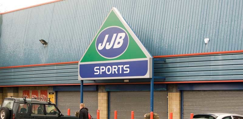 Steve MacDougall, Courier, JJB Sports, St Catherines Retail Park, Perth. Picture of the busy to accompany story about company closing.