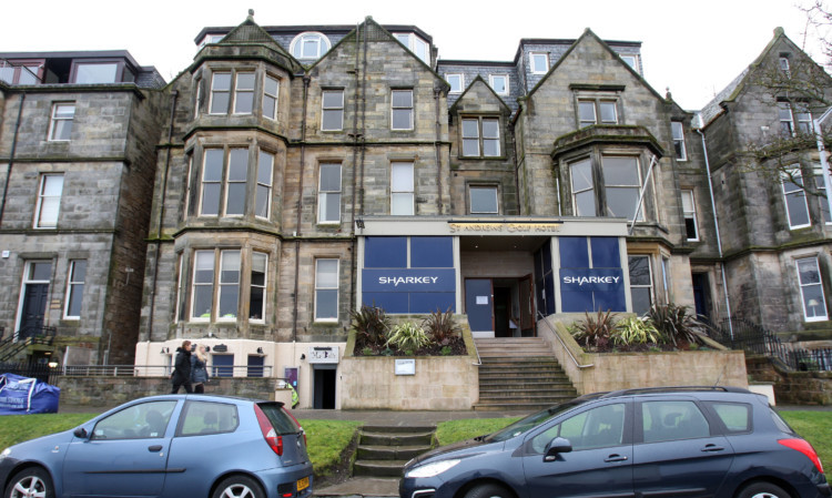 The former St Andrews Golf Hotel is well on the way to becoming a new Hotel du Vin.