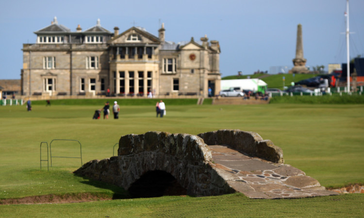 St Andrews is known globally as the home of golf.