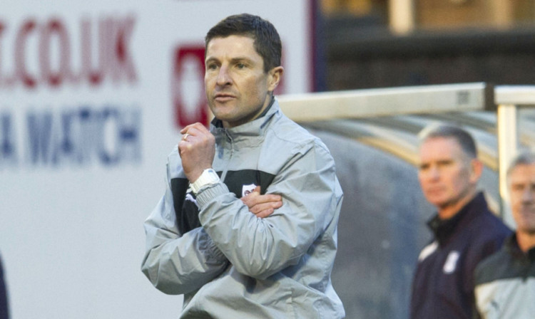 Raith Rovers manager Grant Murray.