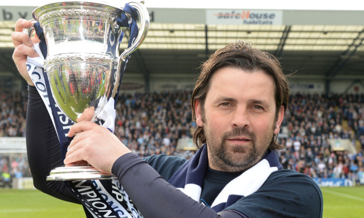 Paul Hartley has been promised backing to make Dundee an established team in the Premiership.