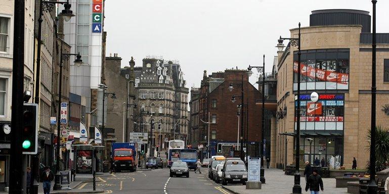 Dundee City Centre - High Street, Nethergate
