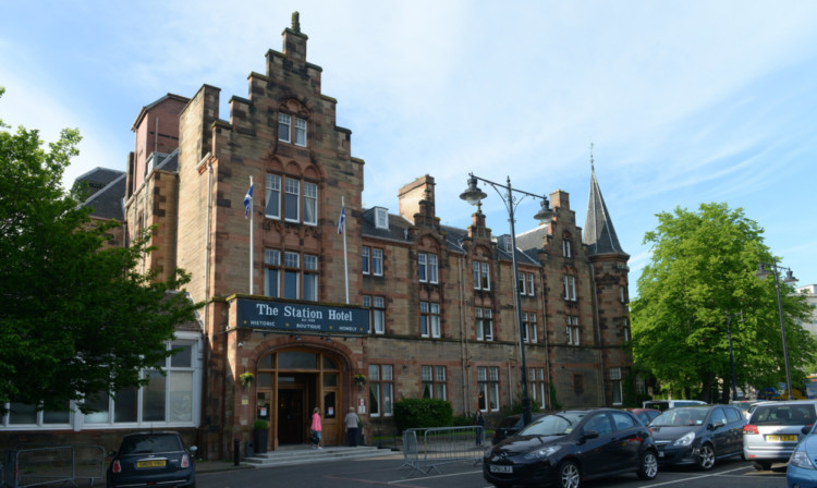 The Station Hotel in Perth.