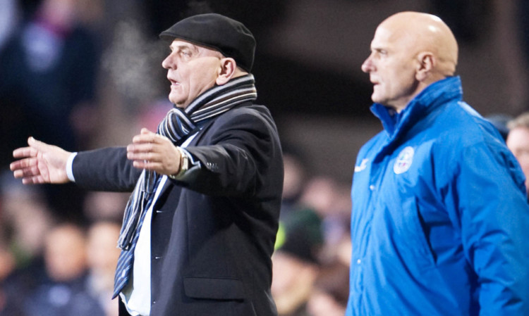 Dick (left) and Iain Campbell have been a memorable partnership at Forfar.