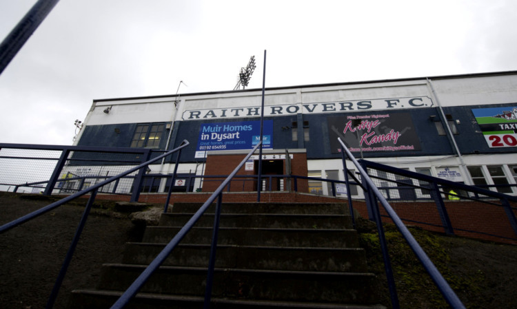 10/07/12 PRE-SEASON FRIENDLY RAITH ROVERS v ROSS COUNTY (1-1) STARKS PARK - KIRKCALDY Starks Park, the home of Raith Rovers.