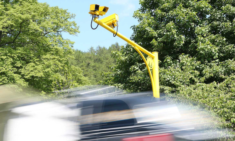 Average speed cameras have started to be placed along the A9 but have not yet been activated.