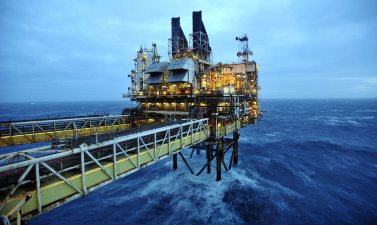 Stormy waters: Oil & Gas UK said the sector faces an uncertain future, with the tax review required urgently.