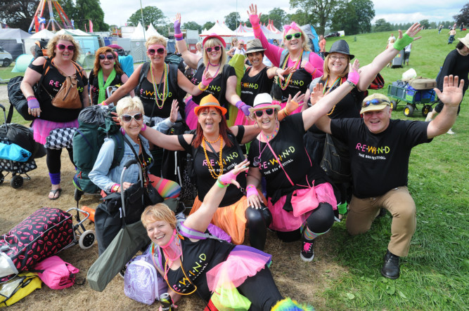 Thousands of retro revellers have made the annual pilgrimage to Perthshire to enjoy a weekend of nostalgia. Queues snaked across the grounds of Scone Palace on Friday as campers arrived for the Rewind Festival, which features an array of 80s stars on Saturday and Sunday. Look out for updates from the festival all weekend at www.thecourier.co.uk.