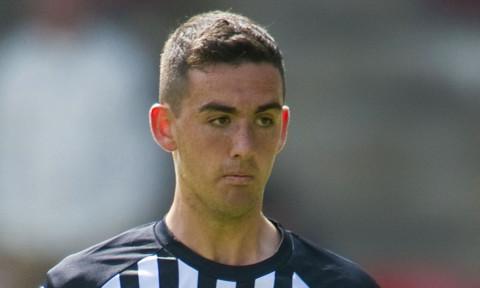 Shaun Byrne scored for Dunfermline.