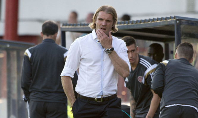 Robbie Neilson at Dens on Tuesday.