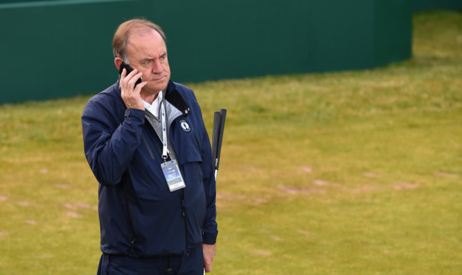 Peter Dawson, Chief Executive of the R&A.