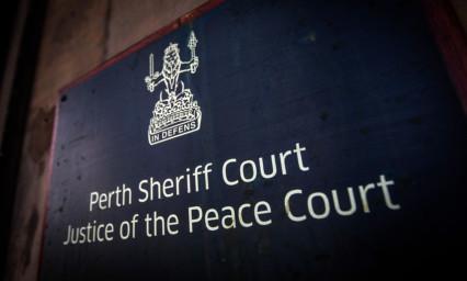 Perth Sheriff Court.