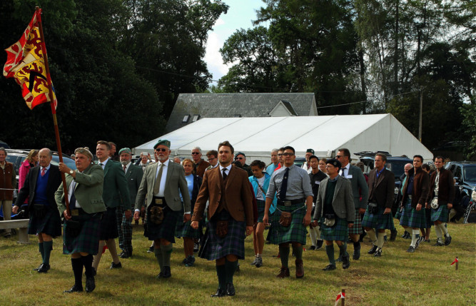 Scenes from the Strathardle Highland Gathering, which was held at Bannerfield, Kirkmichael, on August 23.