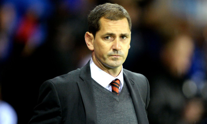 Jackie McNamara watching from the sidelines on Friday night.