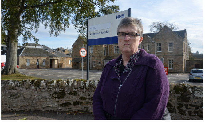 Chrys Muirhead's complaint about her son's treatment at the hands of NHS Fife staff at Stratheden Hospital was upheald by the Public Services Ombudsman.