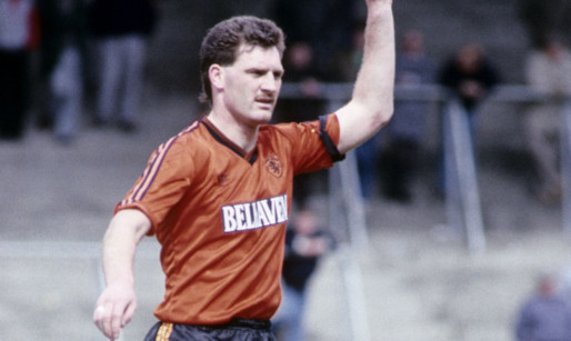 Charlie Adam playing for Dundee United in 1989.