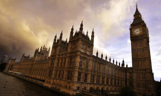 The Houses of Parliament where the devolution debate will take place.
