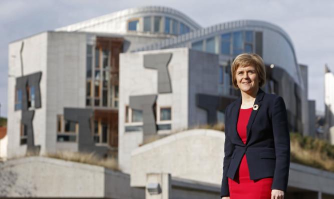 Nicola Sturgeon will come to Dundee on November 7.