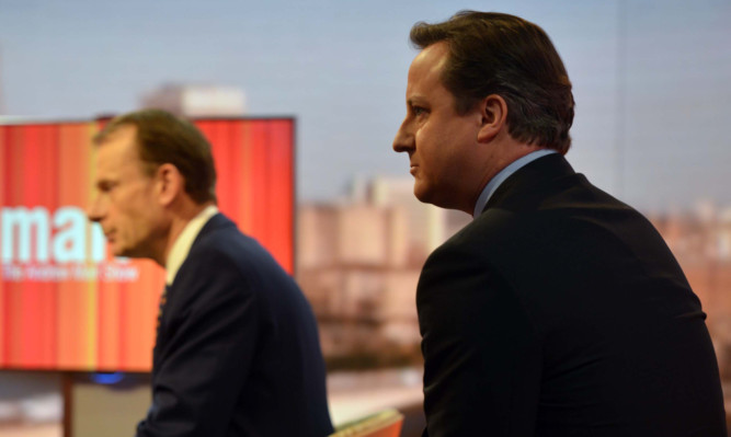 Mr Cameron appears on the Andrew Marr Show on Sunday.