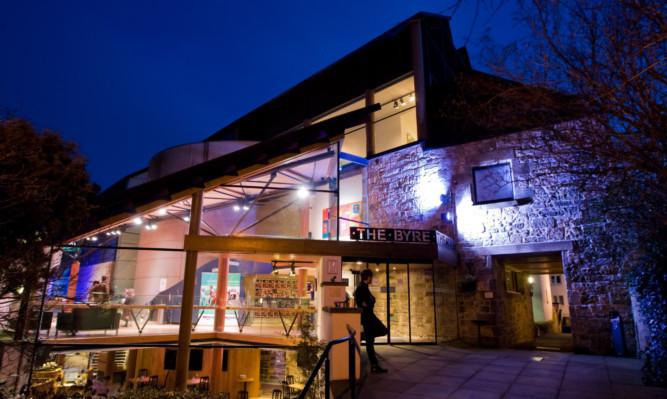 The Byre Theatre.