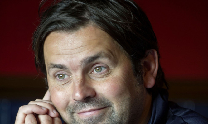 Paul Hartley has got good reason to smile.