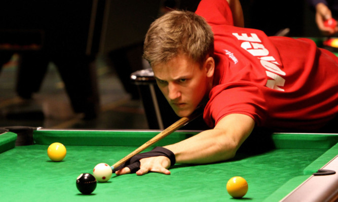 Competition is fierce at the World Blackball Pool Championships.