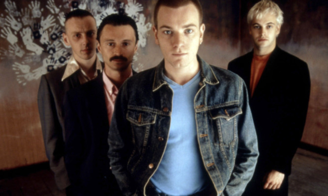 Ewan McGregor, Ewen Bremner, Robert Carlyle and Jonny Lee Miller