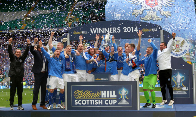 Scottish Cup holders St Johnstone