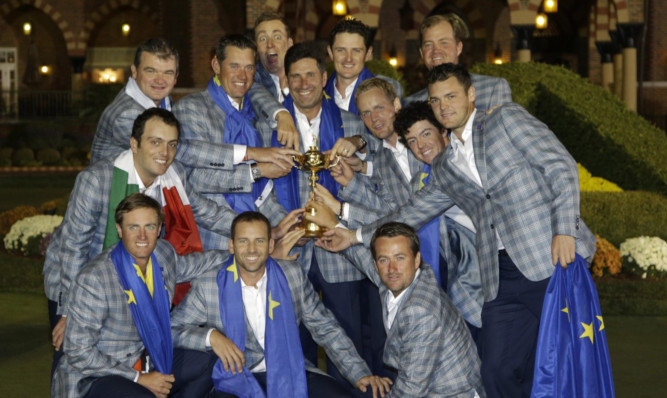 Europe are hoping to retain the Ryder Cup at Gleneagles in 2014.