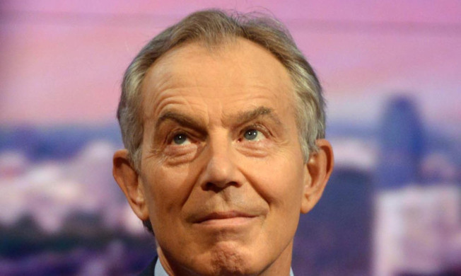 Former Prime Minister Tony Blair says Britain must be involved in the Middle East.