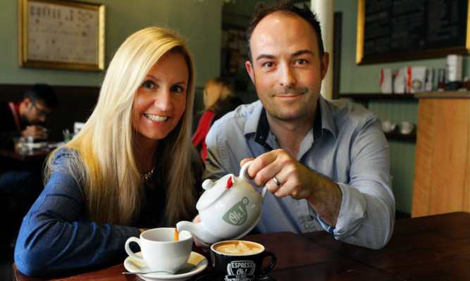 Tammy and Barry Thomson will expand their cafe into a restaurant.