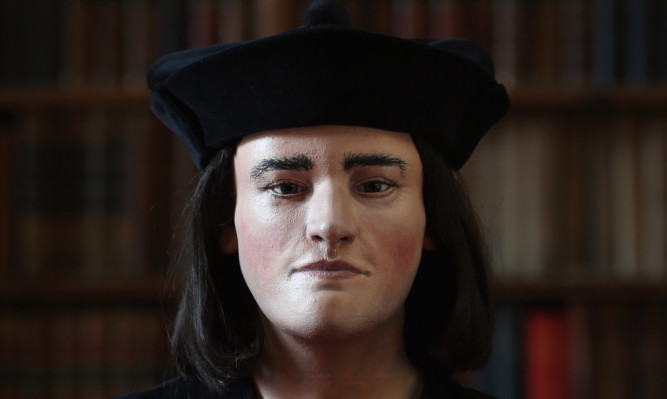 Experts from Dundee University helped reconstruct the face of Richard III.