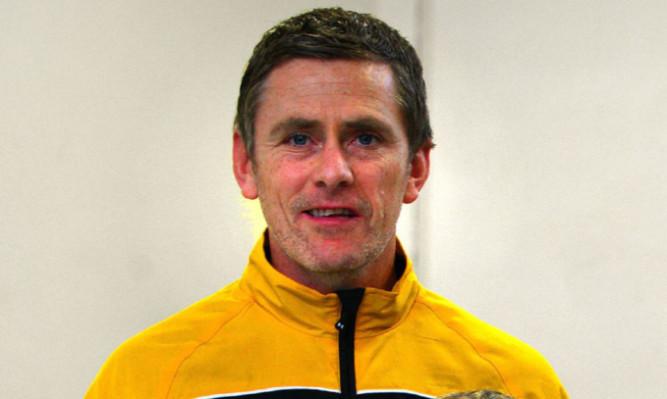 East Fife boss Gary Naysmith
