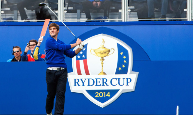 Perthshire golfer Bradley Neil.