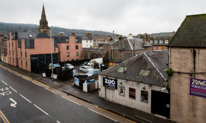 The Zoo nightclub and adjacent car park could make way for a new housing development.
