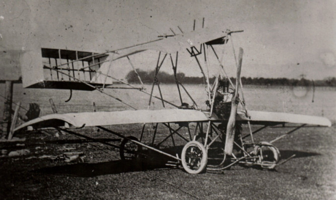 One of Preston Watson's early planes.