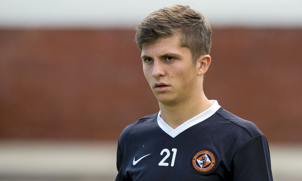 01/07/14 DUNDEE UNITED TRAINING ST ANDREWS Charlie Telfer returns to pre-season training with Dundee United