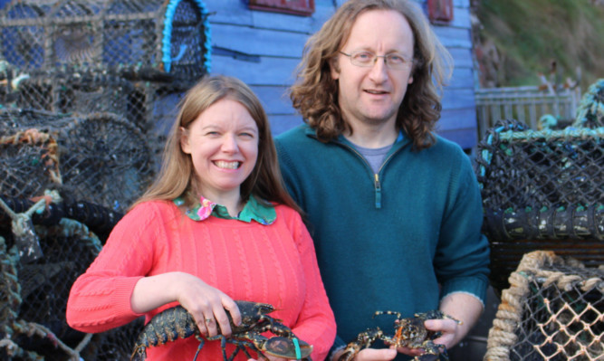 Fife seafood transport company nets major cash prize, Errin and Keith Todd of Lobster Pod