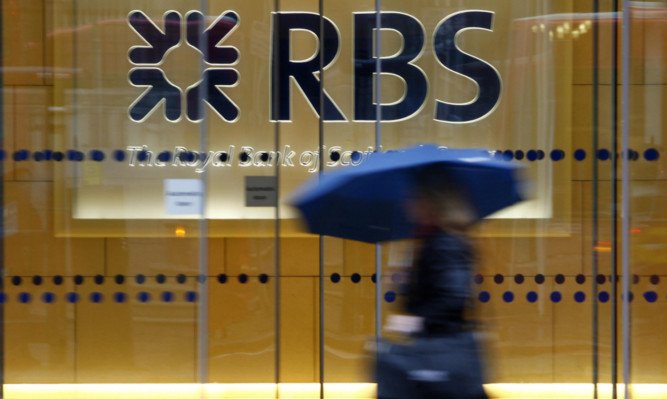 RBS has revealed major first quarter losses.