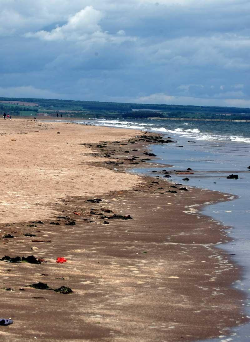 Kinshaldy Beach at Tentsmuir, Fife.