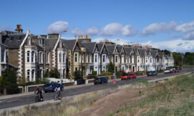 Part of the stretch of Broughty Ferry Esplanade covered by the proposed dune erosion works.