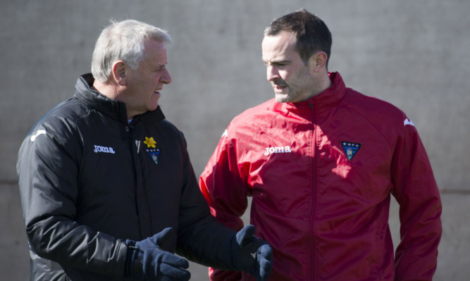 New Pars manager John Potter (right) learned a lot from Jim Jefferies (left).